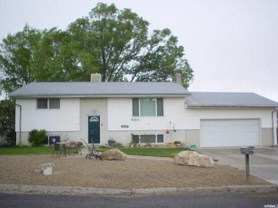 Price UT Single Family Home For Sale: $185,000