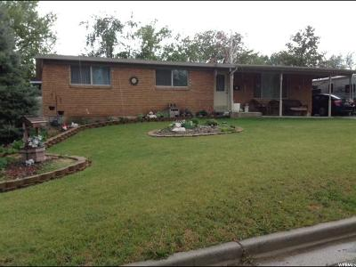Brigham City Single Family Home For Sale: 234 E 300 N