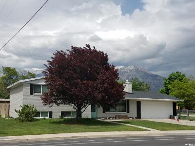 Orem Single Family Home For Sale: 110 W 800 S