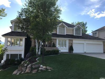 Cottonwood Heights UT Single Family Home For Sale: $934,000