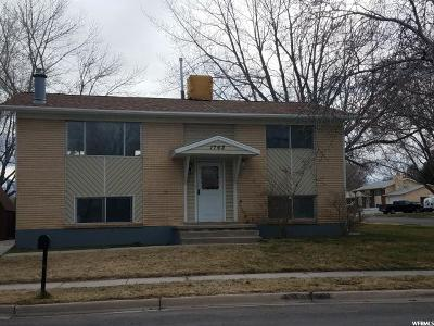 Clinton Single Family Home For Sale: 1762 N 670 W