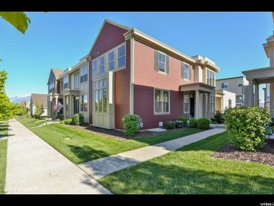 South Jordan Townhouse For Sale: 4723 W Zig Zag Rd S