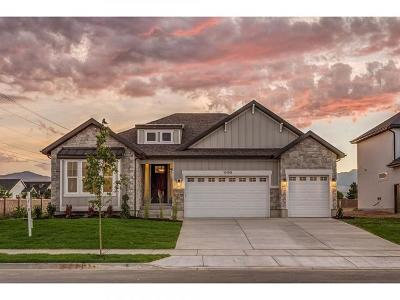 South Jordan Single Family Home For Sale: 10190 S Glenmoor View Ln W #LOT 1