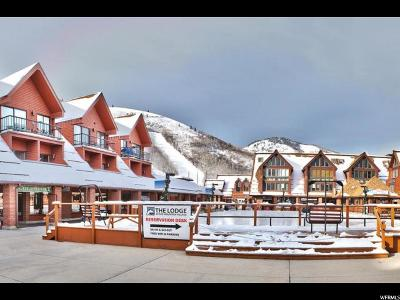 Park City Condo For Sale: 1385 Lowell Ave #207A