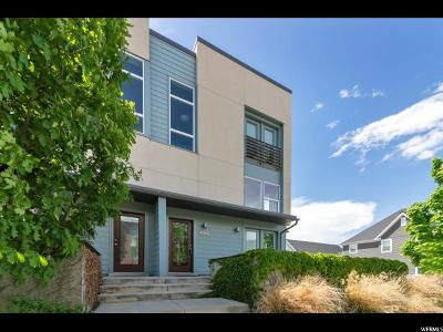 South Jordan Townhouse For Sale: 10364 S Oquirrh Lake Rd W