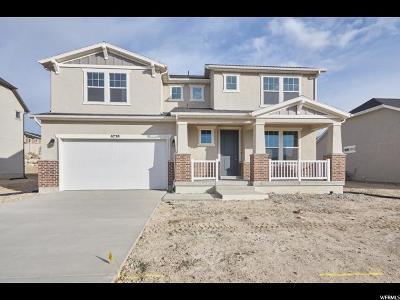 West Jordan Single Family Home For Sale: 6758 W Highline Park Dr
