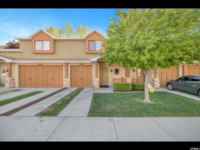 West Jordan Townhouse For Sale: 6716 S Pines Point Way