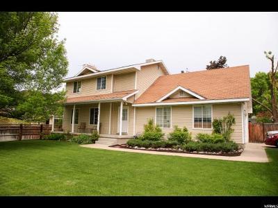Providence Single Family Home For Sale: 321 E 100 N
