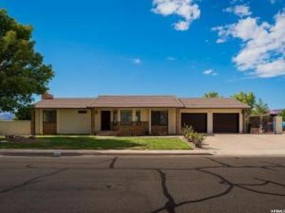 St. George Single Family Home For Sale: 1253 N 1390 W