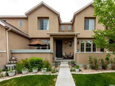 Stansbury Park Townhouse For Sale: 497 E Frost Ln