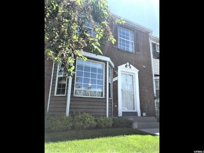 Orem, Provo Townhouse For Sale: 379 W 750 N