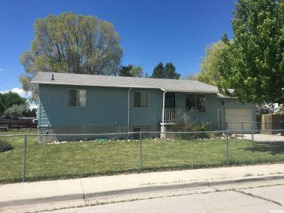 Preston Single Family Home For Sale: 96 S 300 W