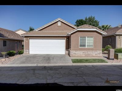 St. George Single Family Home For Sale: 2930 E 450 N #F13
