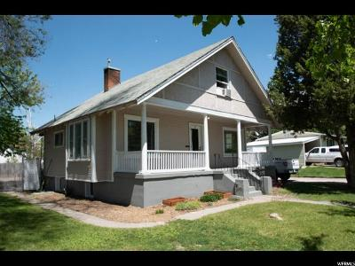 Logan Single Family Home For Sale: 493 W 300 N