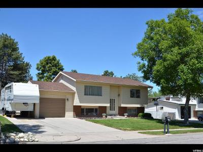 Taylorsville Single Family Home For Sale: 5016 S 3760 W