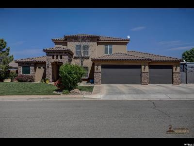 St. George Single Family Home For Sale: 2635 S 3070 E
