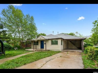 Springville Single Family Home For Sale: 168 W 400 N