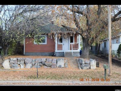 Ogden Single Family Home For Sale: 2128 Van Buren Ave
