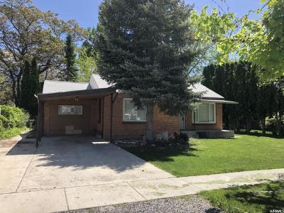 Pleasant Grove Single Family Home For Sale: 1060 N 200 W