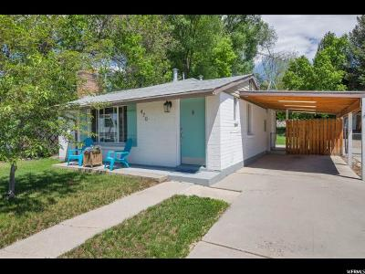 American Fork Single Family Home For Sale: 470 N 300 E