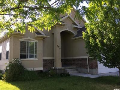Stansbury Park Single Family Home For Sale: 5549 Brienne Way