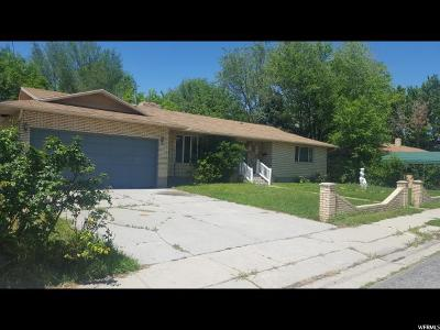 Lehi Single Family Home For Sale: 260 S 100 W