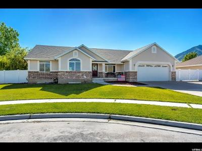Spanish Fork Single Family Home For Sale: 1541 S 2180 E