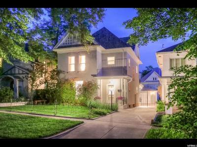 Salt Lake City Single Family Home For Sale: 854 1st Ave