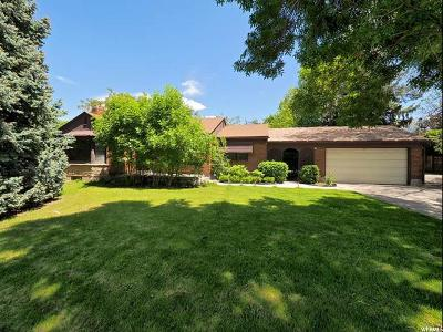 Salt Lake City Single Family Home For Sale: 3037 S 2000 E