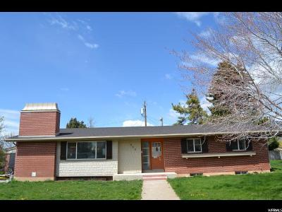 Ogden Single Family Home For Sale: 820 E 34th S