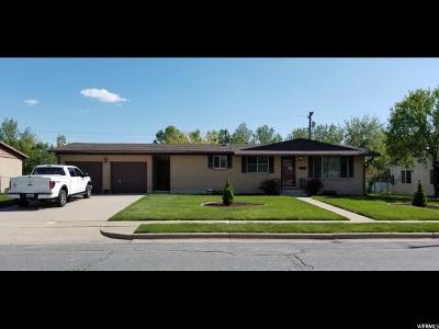 Layton UT Single Family Home For Sale: $267,900