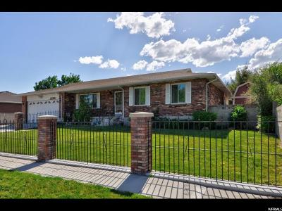 Taylorsville Single Family Home For Sale: 6084 S Hathaway St W