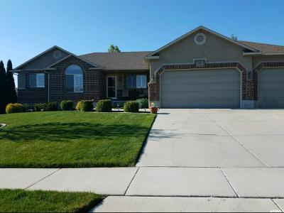West Jordan Single Family Home For Sale: 3661 W Zadok Ln S