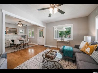 Salt Lake City Single Family Home For Sale: 280 E Herbert Ave S