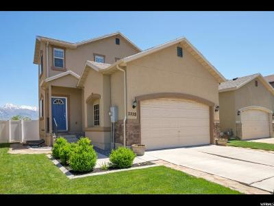 Lehi Single Family Home For Sale: 2228 N Pointe Meadow Loop
