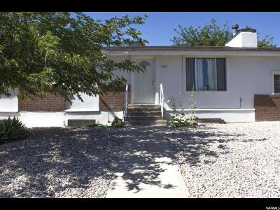 St. George Single Family Home For Sale: 1310 W 580 N
