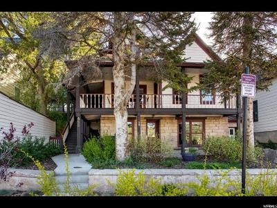 Park City Single Family Home For Sale: 455 Park Ave