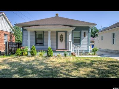 Ogden Single Family Home For Sale: 918 N 22nd St