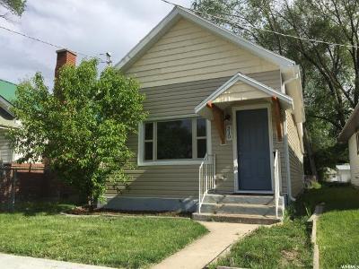 Ogden Single Family Home For Sale: 310 E Cross St