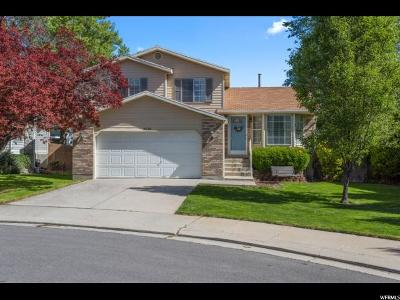 West Jordan Single Family Home For Sale: 3438 W Charlesworth Cir