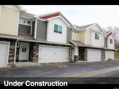 Hyrum Townhouse For Sale: 250 W 70 N