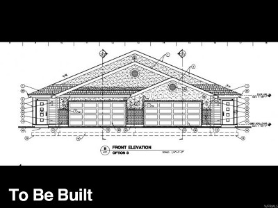 Tooele Multi Family Home For Sale: 596 S Coleman St W #LOT 3