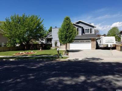 Riverton Single Family Home For Sale: 13608 S 2260 W