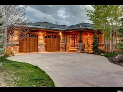 Park City Single Family Home For Sale: 3249 Mountain Top Ln