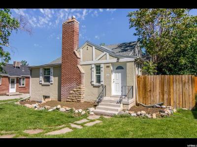 Salt Lake City UT Single Family Home For Sale: $450,000