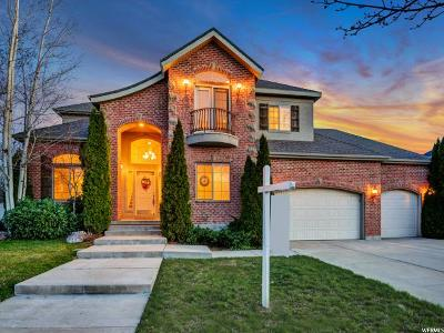 Taylorsville Single Family Home For Sale: 2743 W Ivory Way S