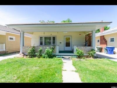 Ogden Single Family Home For Sale: 2673 Van Buren