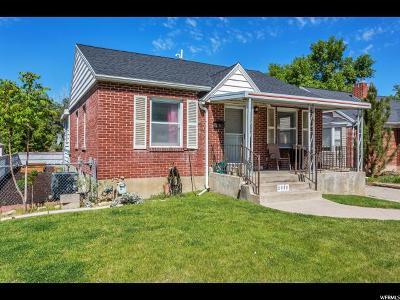 Salt Lake City UT Single Family Home For Sale: $425,000