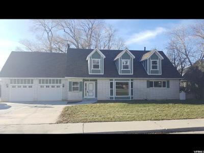 Orem Single Family Home For Sale: 186 S 1000 E