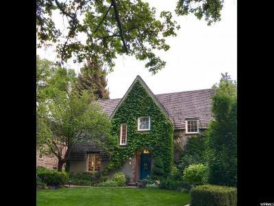 Salt Lake City UT Single Family Home For Sale: $1,275,000